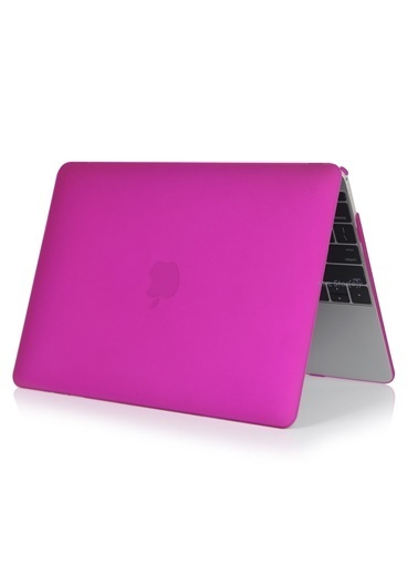 "Mcstorey MacBook Air A1465  A1370 11.6"" Kılıf Kapak Koruyucu Hard Incase Mat Mor"